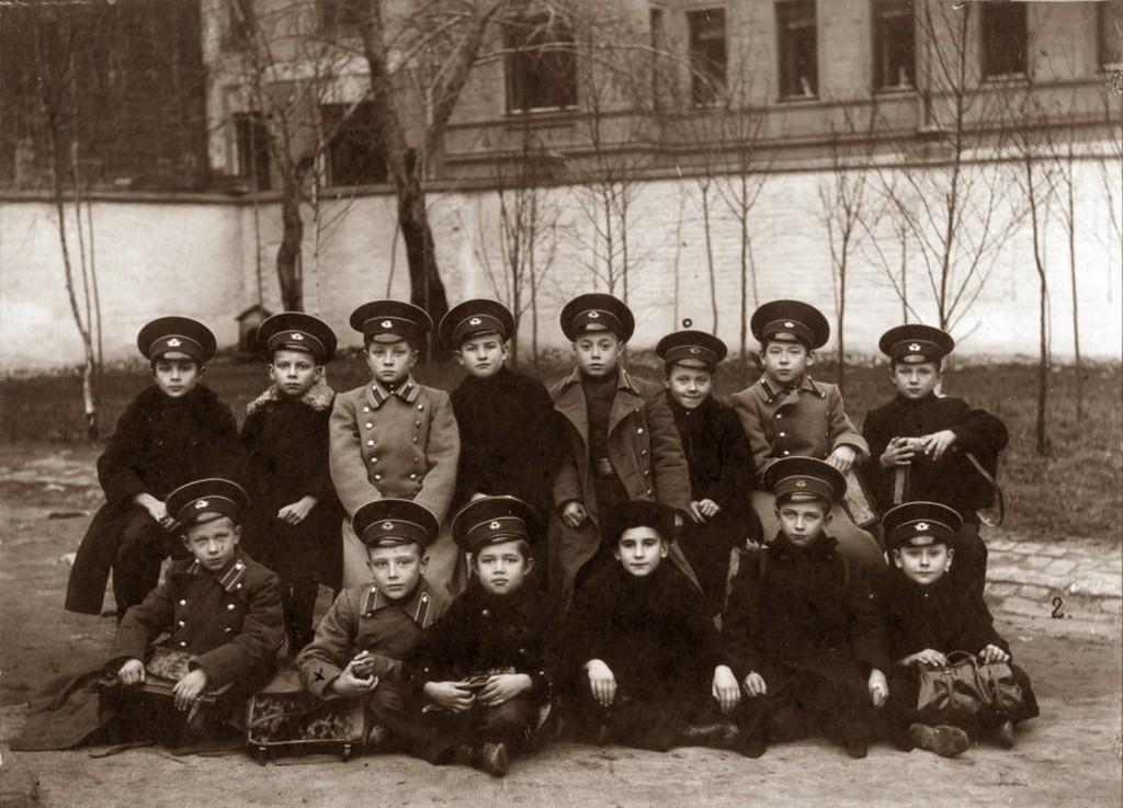 Гимназисты, снимок начала ХХ века