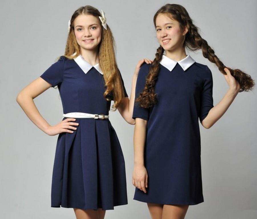 Классическое платье для 1 сентября