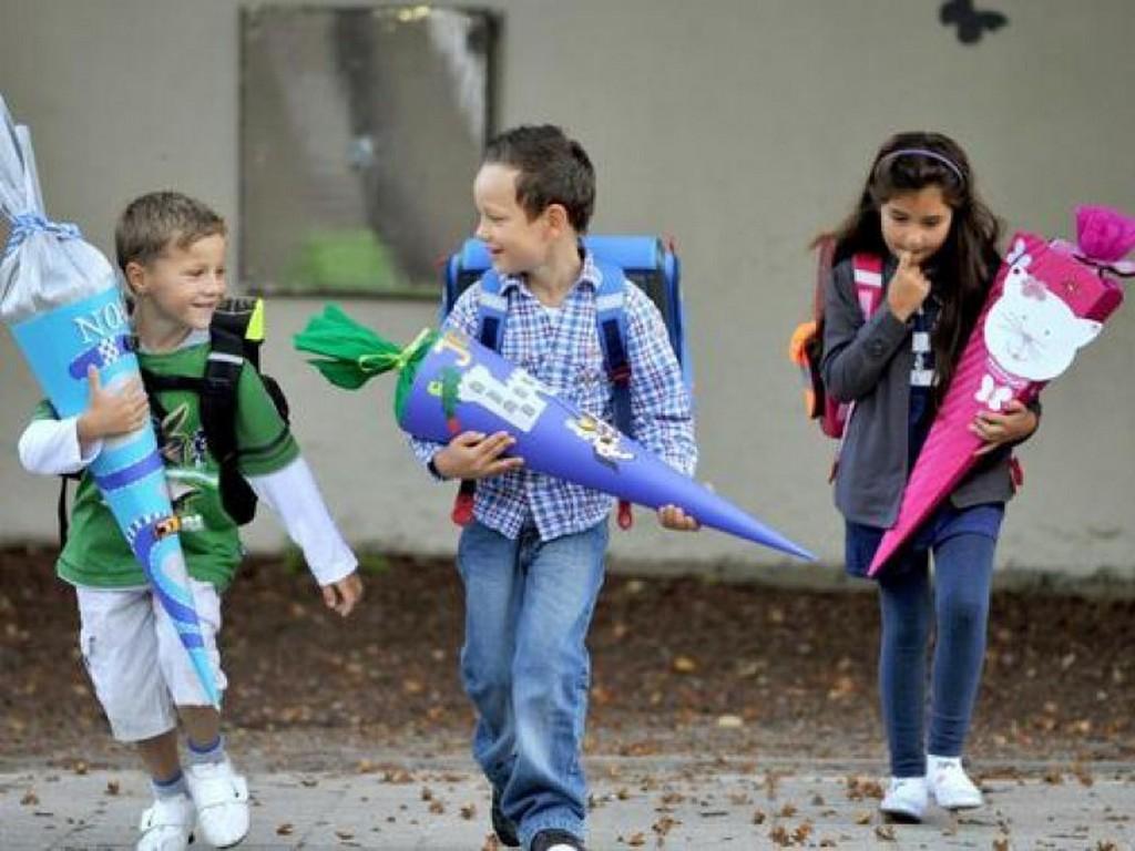 Традиционный «школьный кулёк» для первоклассников в Германии