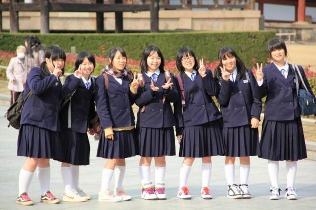 Китайская школьная форма