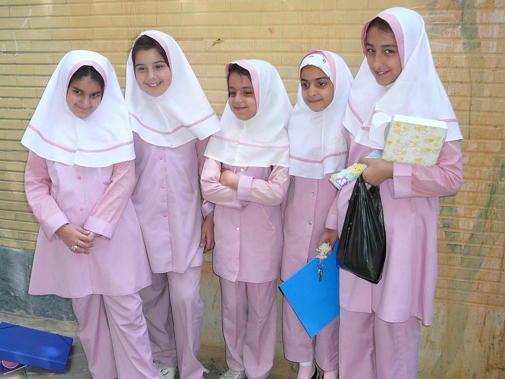 Школьники Ирана