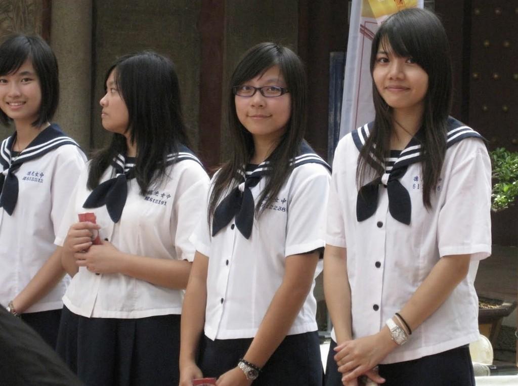 Школьники Тайваня