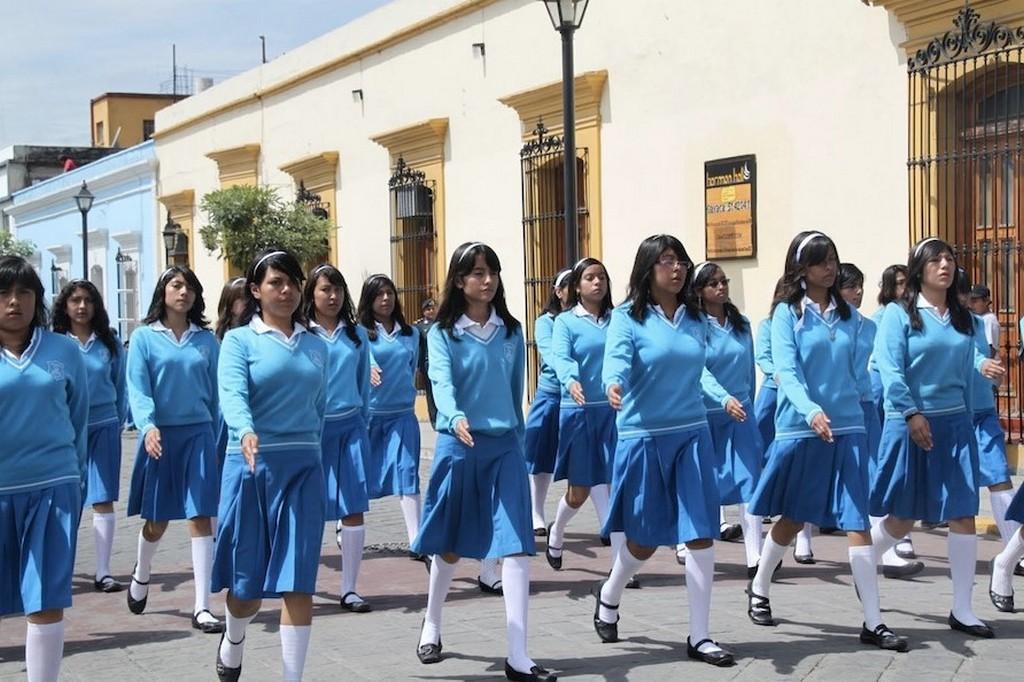 Школьники Мексики