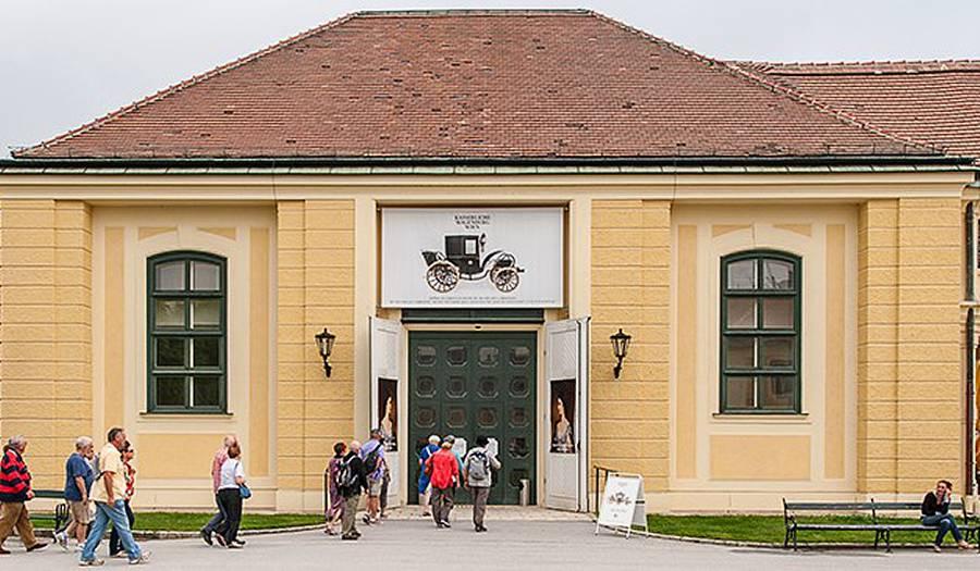 Музей карет, Дворец Шёнбрунн