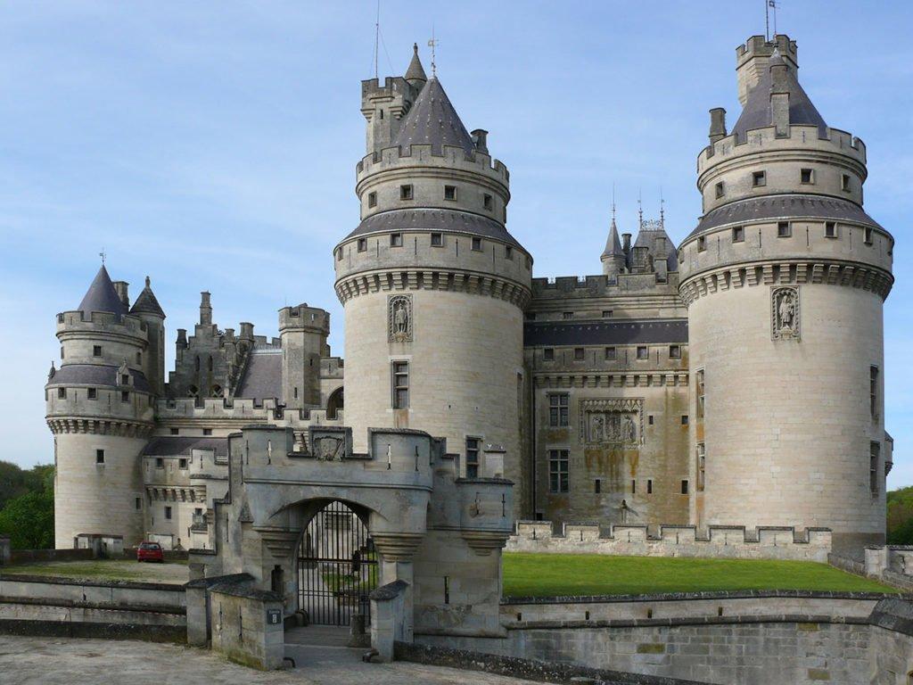 Замок Пьерфон (Château de Pierrefonds)