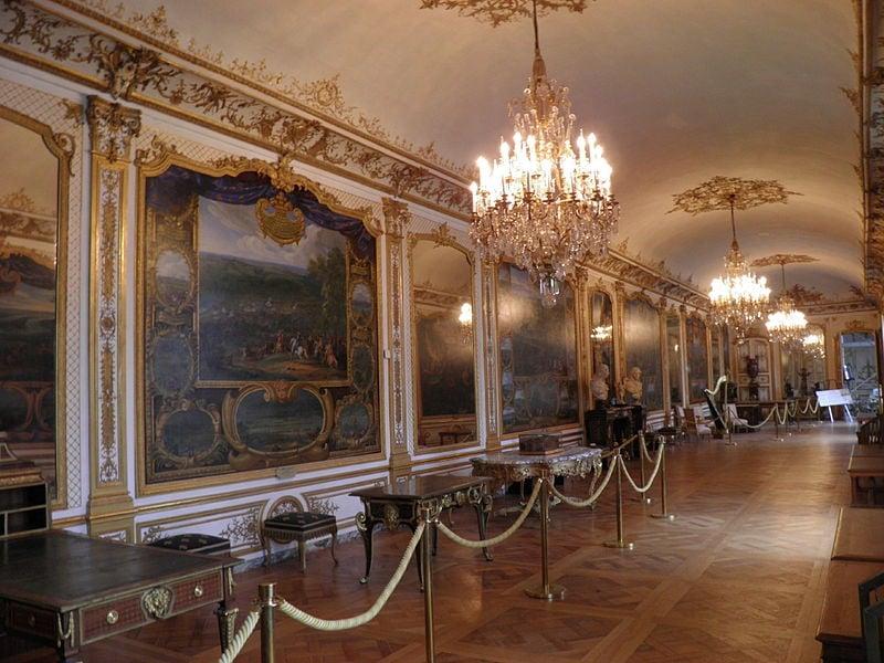 Галерея сражений в Больших аппартаментах, Музей Конде