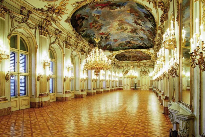 Большая галерея, Дворец Шёнбрунн
