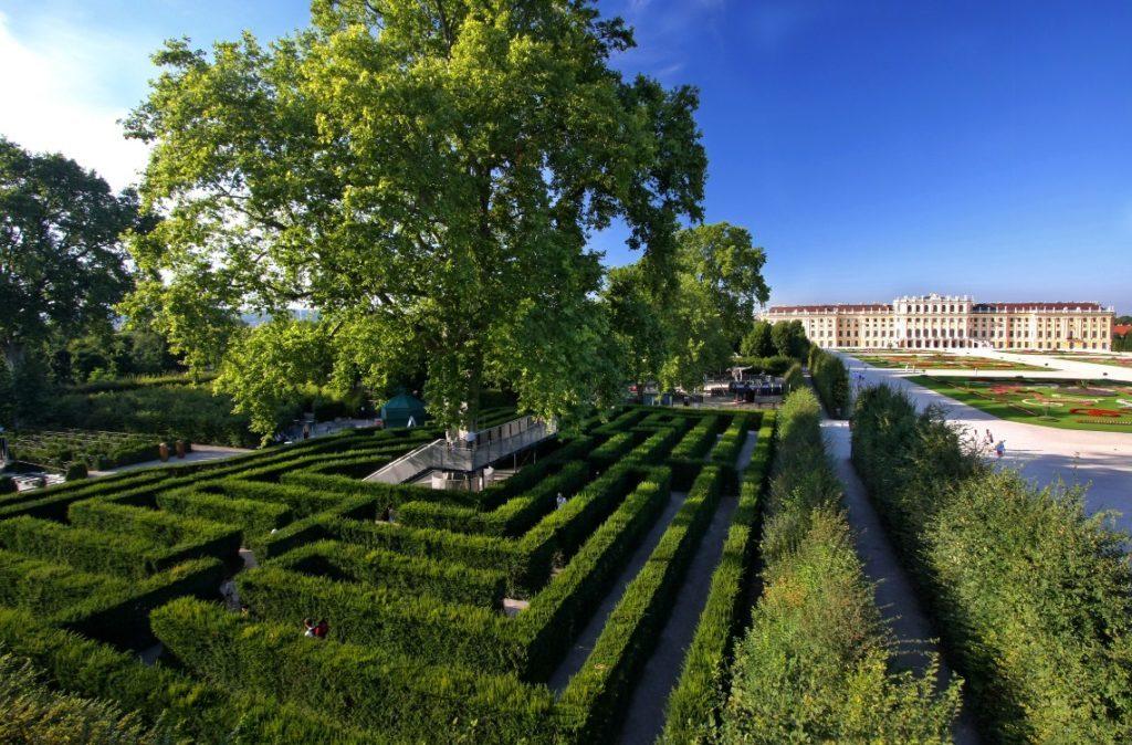 Лабиринт, дворец Шёнбрунн