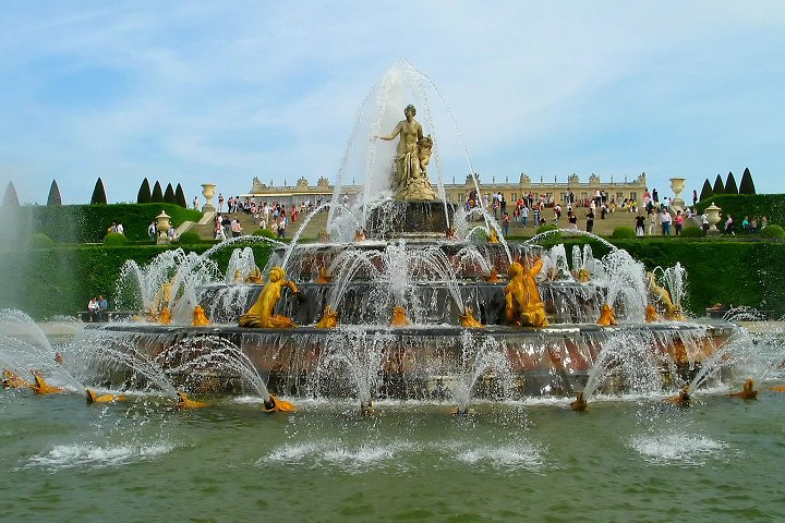 Фонтан Латоны в Версале (Fountain of Latona)