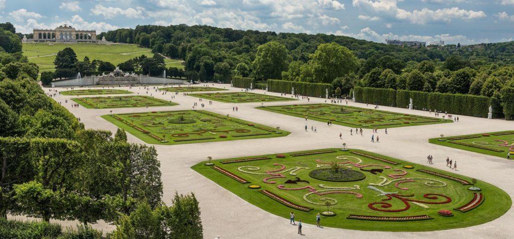 Дворцовый парк, Дворец Шёнбрунн (Schlosspark Schönbrunn)