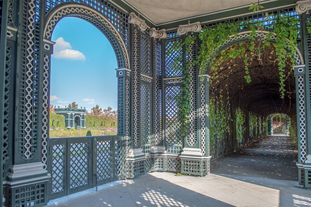 Беседка - павильон сада, дворец Шёнбрунн