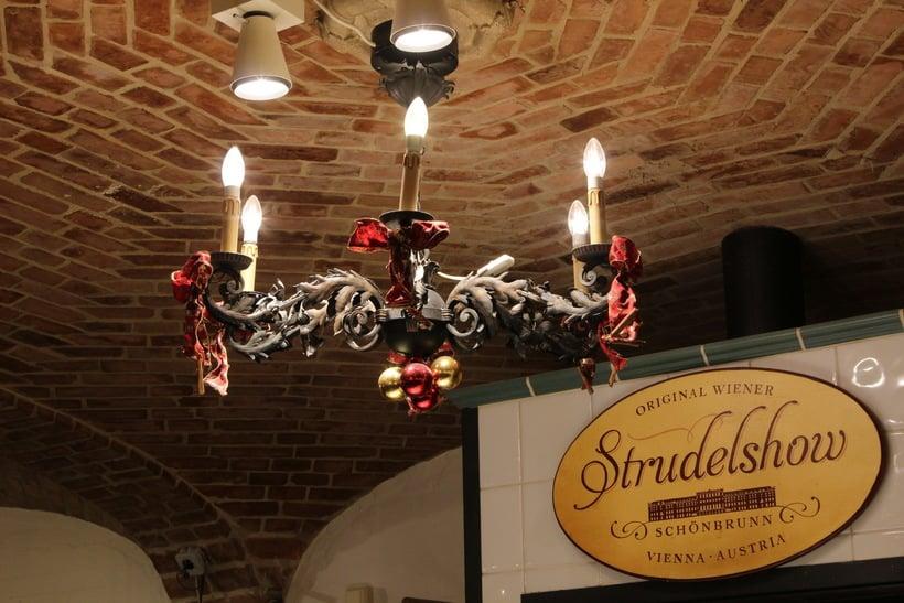 Штрудель шоу в кафе «Резиденц», дворец Шёнбрунн
