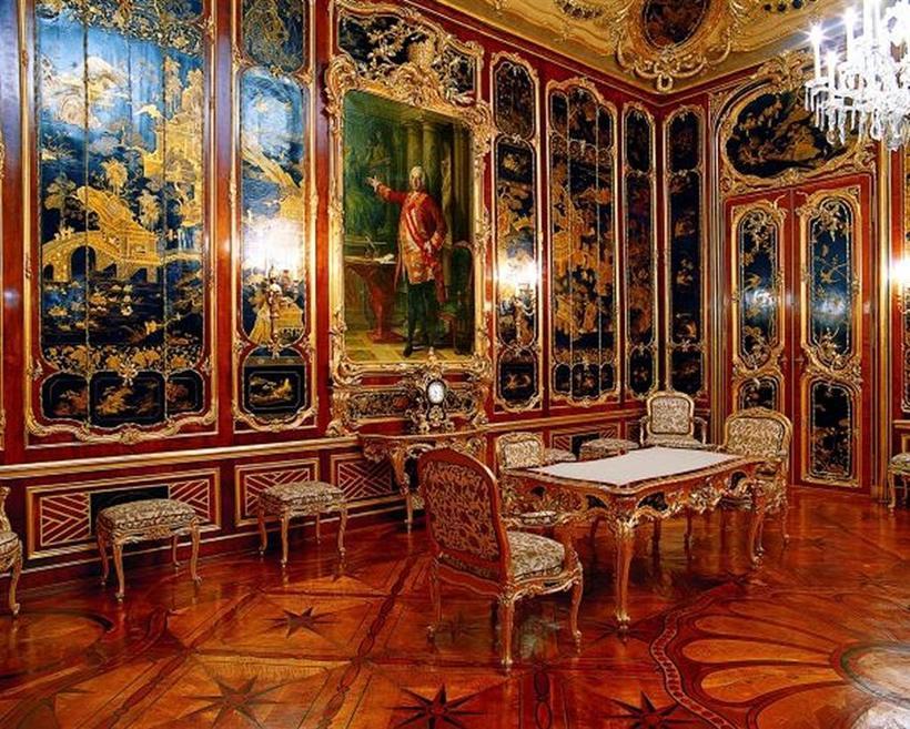 Комната Vieux-Laque, Дворец Шёнбрунн