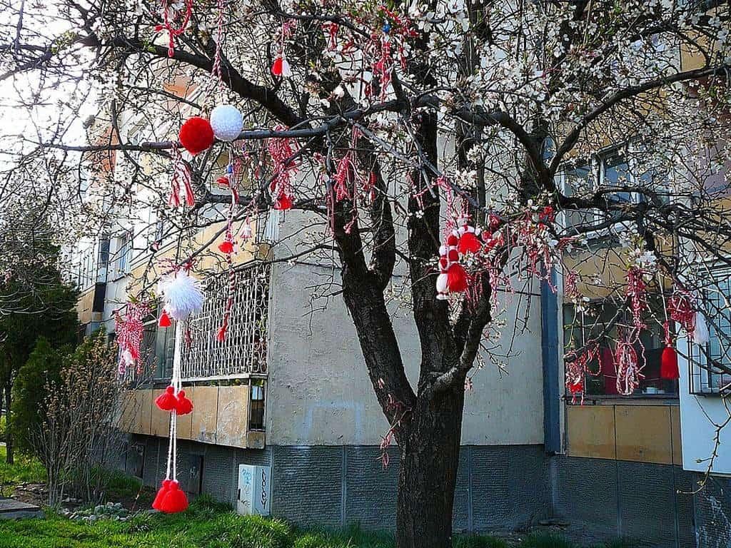 Мартеница в Болгарии