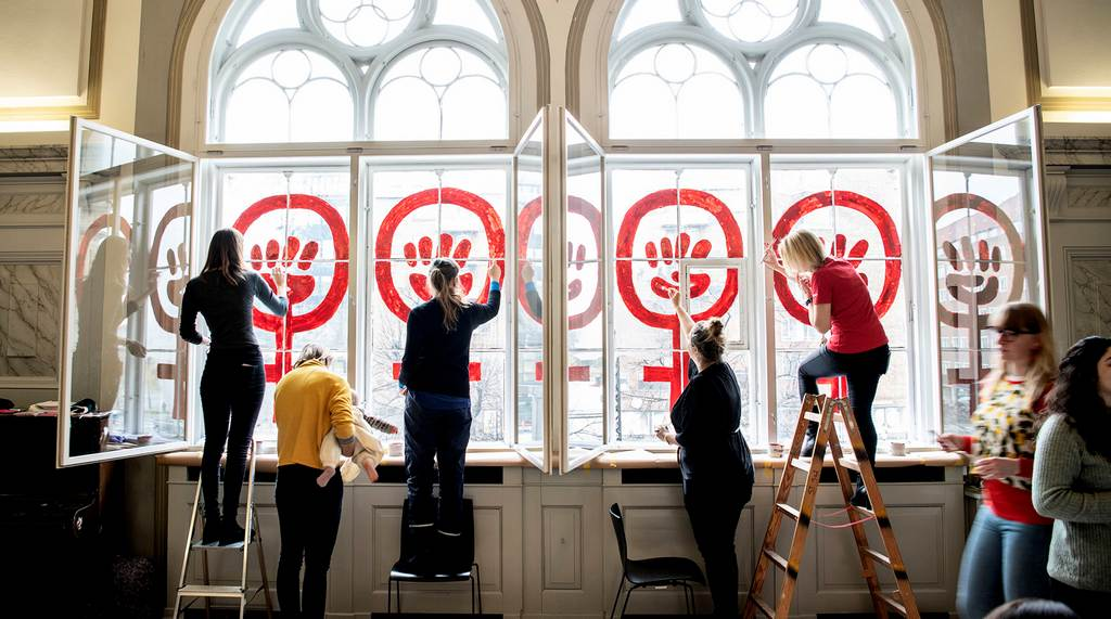 Символ женской борьбы за права, Копенгаген 2019 год