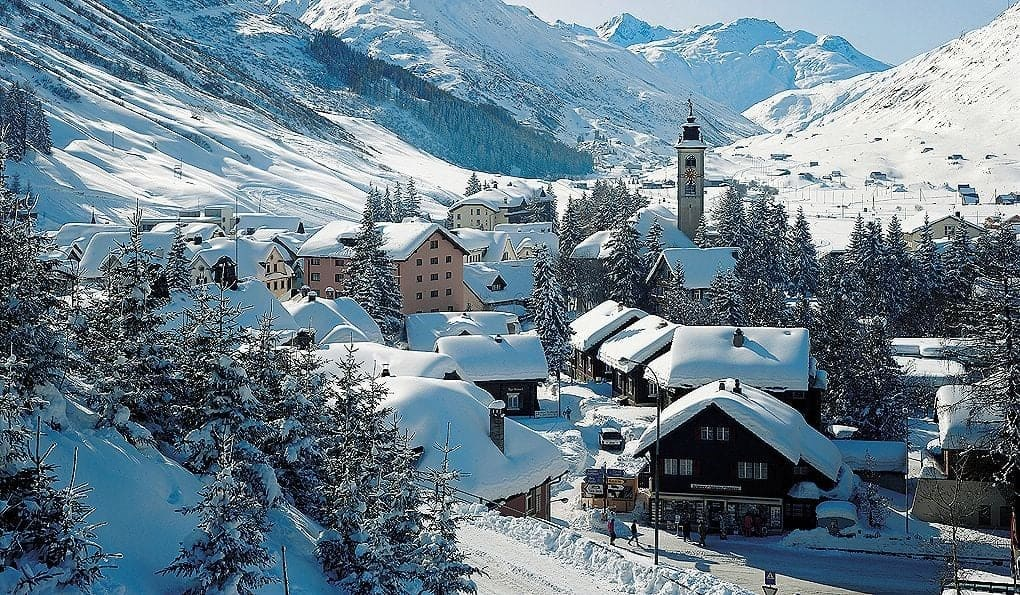 Андерматт (Andermatt) Горнолыжные курорты Швейцарии
