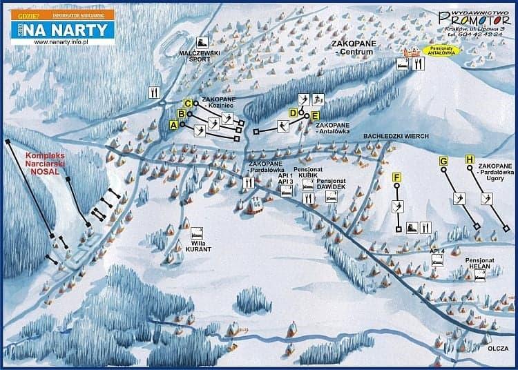 Antałówka - горнолыжный курорт в Польше
