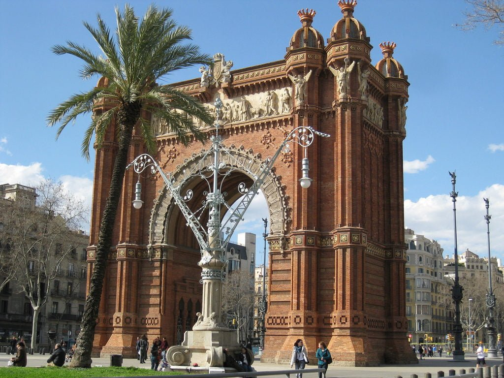 Триумфальная арка, Барселона