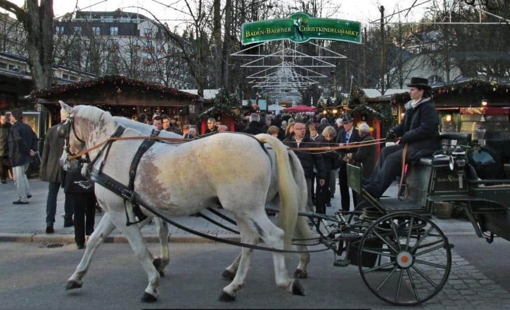 Рождественский рынок в Баден-Бадене (Baden-Baden Weinachtsmarkt) Баден-Баден