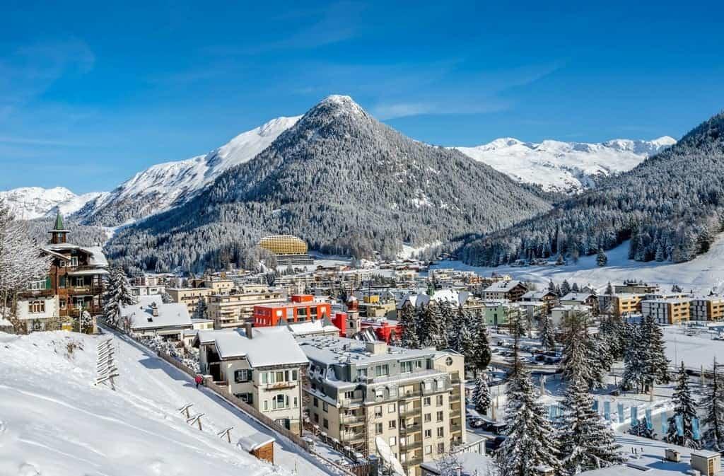 Город Давос (Davos) - престижный клуб «Best of the Alps»