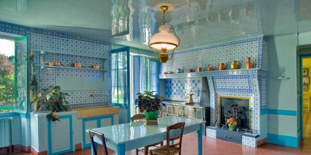 Синяя кухня, дом Моне