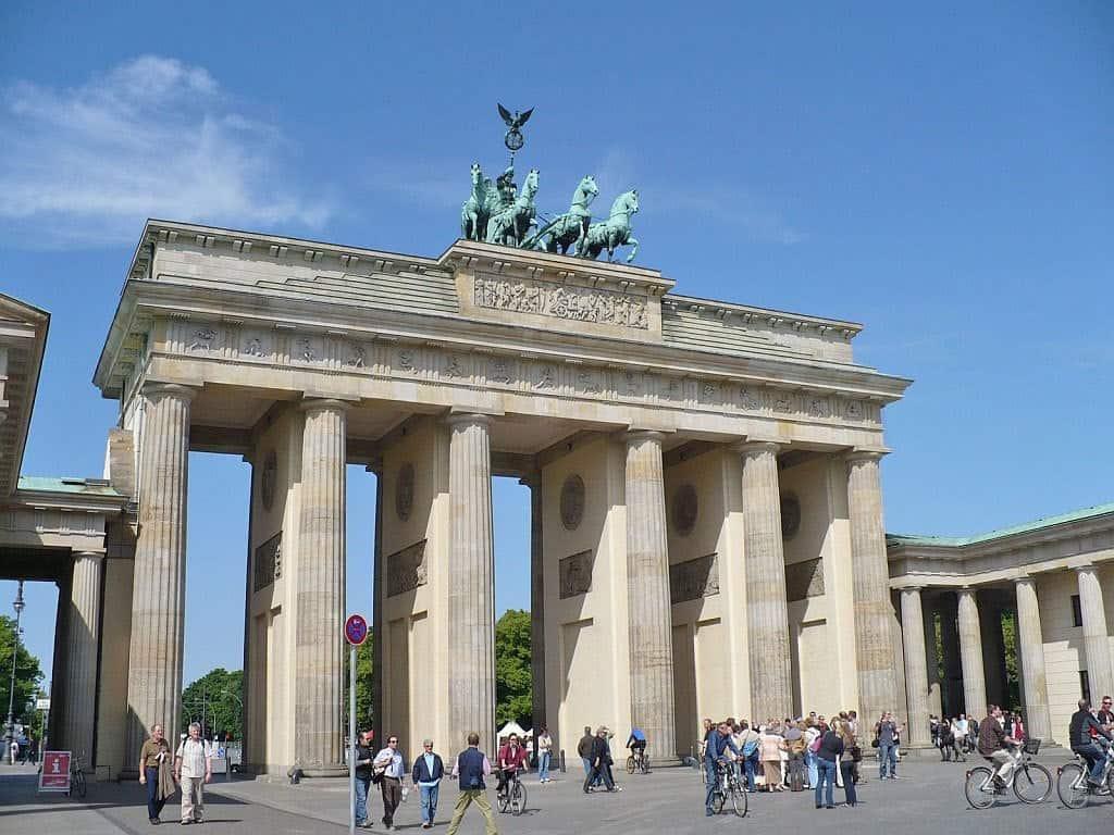 Бранденбургские ворота (Brandenburger Tor) Берлин