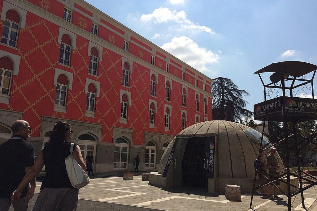 Бункер — музей в городе, Тирана — Албания