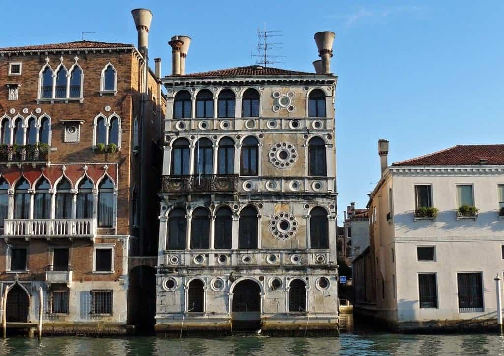 Ка-Дарио (Ca' Dario) Дворцы и музеи Венеции