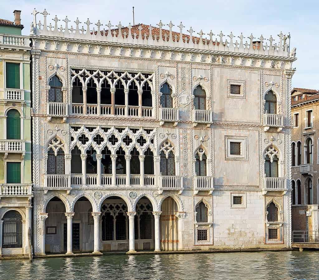Ка-д'Оро (Ca' d'Oro), Дворцы и музеи Венеции