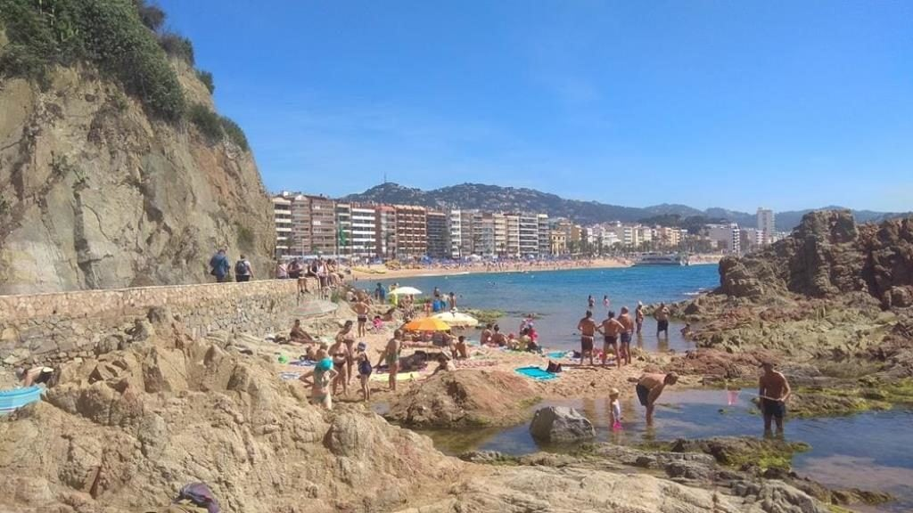 Пляж Cala Banys Льорет-де-Мар