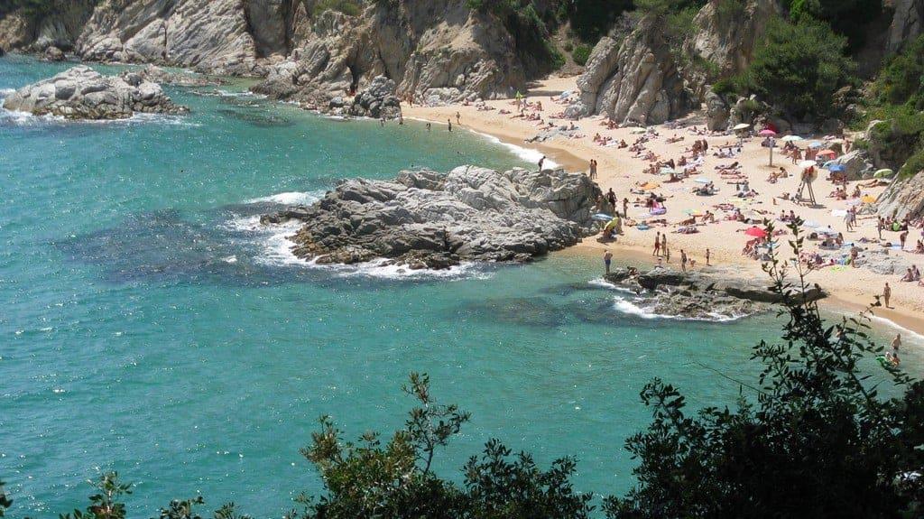 Пляж Кала Са Боаделла (Playa Cala Sa Boadella)