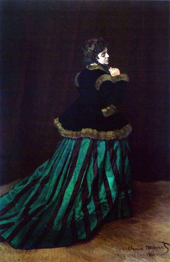 Камилла, или портрет дамы в зелёном платье, 1866
