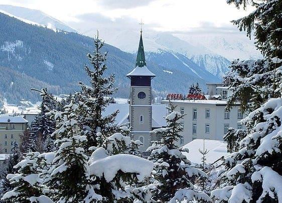 Церковь Иоанна Крестителя, Давос - Горнолыжные курорты Швейцарии