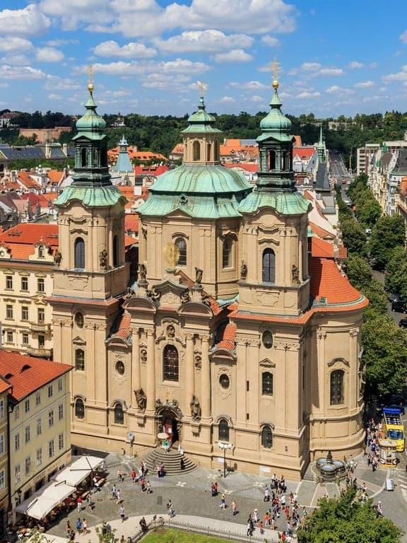 Церковь Святого Микулаша Прага (Praha) – Чехия