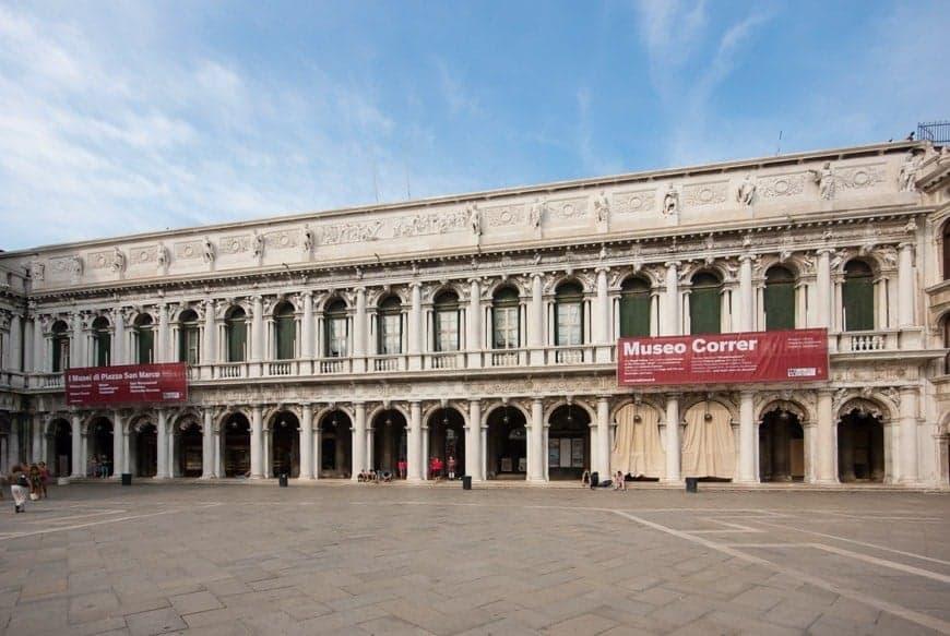 Городской музей Коррера ( Museo Civico Correr), Дворцы и музеи Венеции