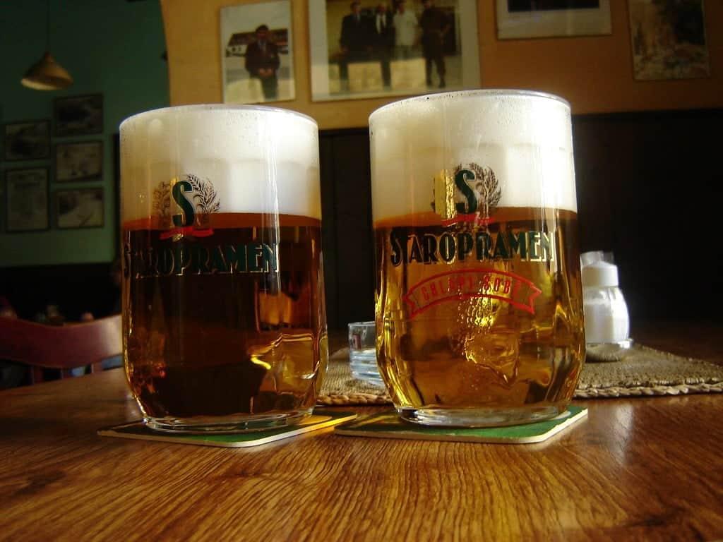Чешское пиво Старопрамен (Staropramen)
