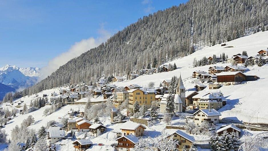 Давос – лыжный район