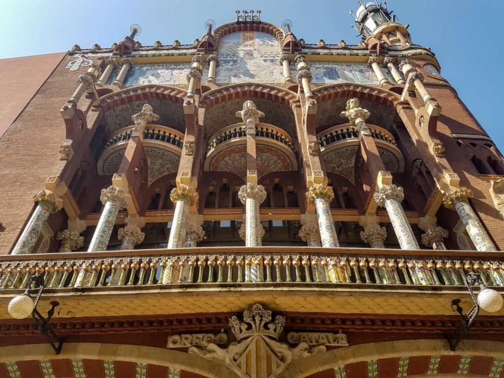 Дворец каталонской музыки, Барселона
