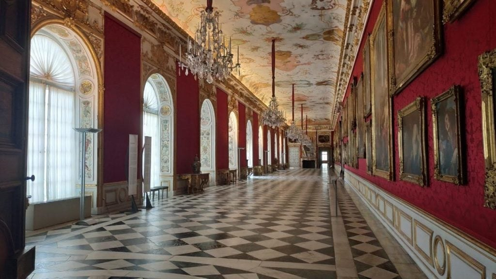 Галерея Нового Дворца Шлайсхайм -Galerie des Neuen Schlosses Schleißheim