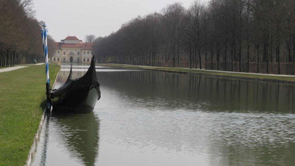Дворец Шлайсхайм - Большой канал (Schloss Schleißheim)