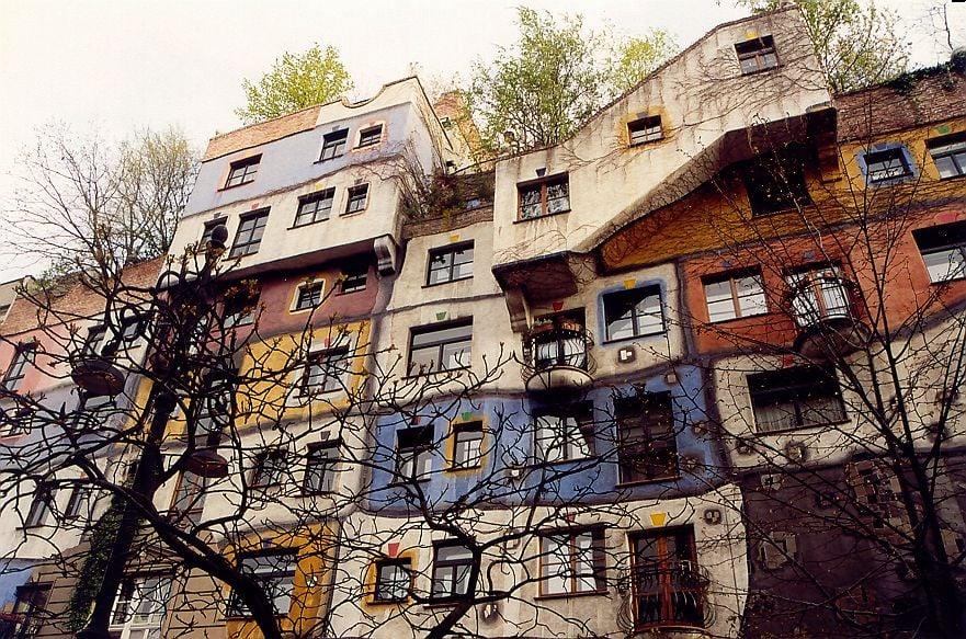 Дом Хундертвассера, Вена
