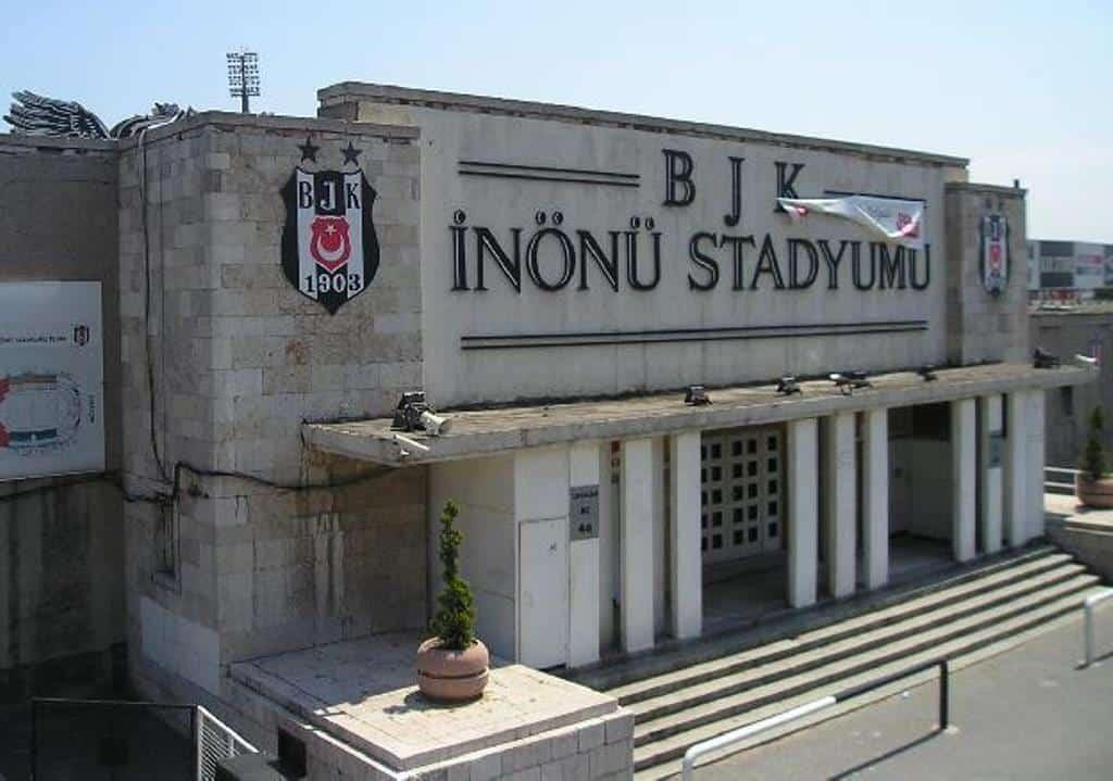 Футбольный стадион Инёню – игровая площадка клуба Бешикташ