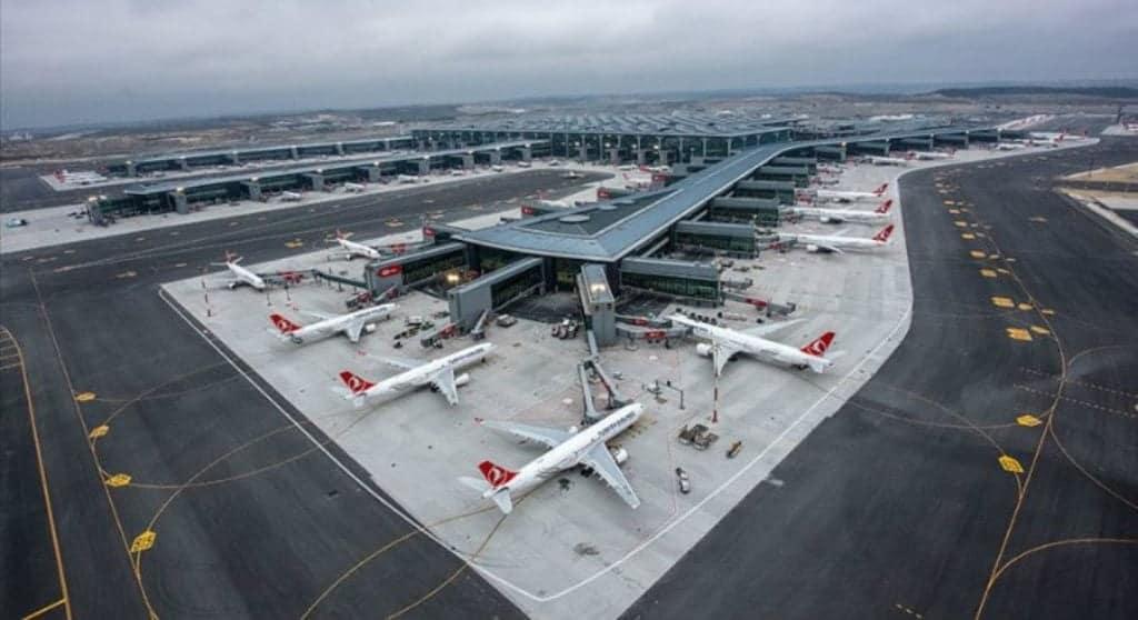 Международный аэропорт Стамбул (İstanbul Havalimanı)