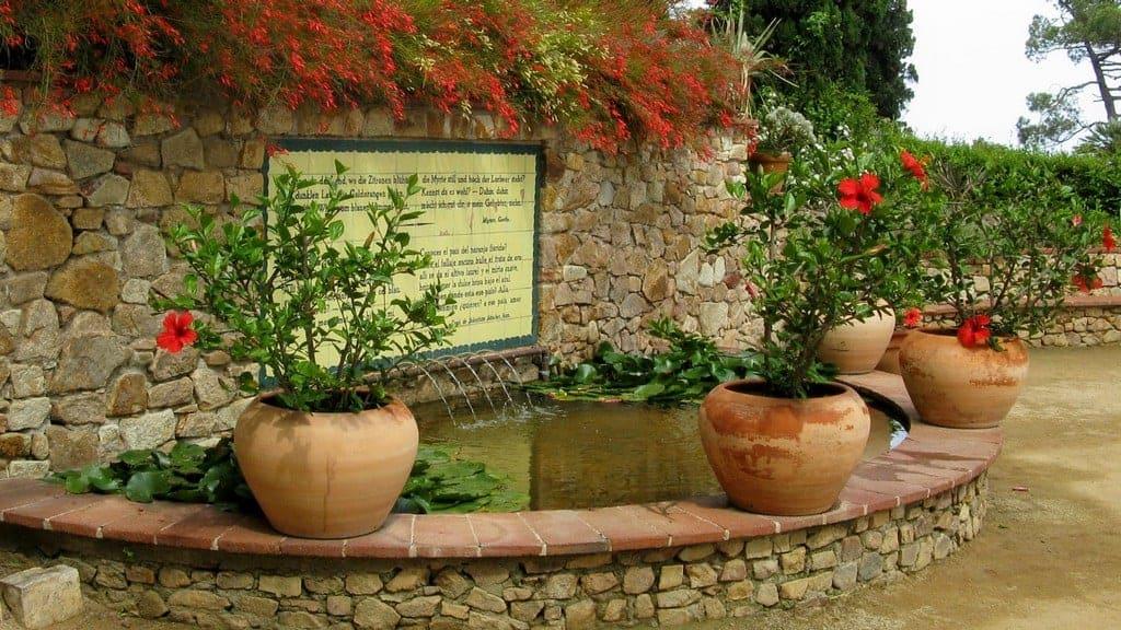 Фонтан Ботанический сад Маримуртра (Marimurtra)
