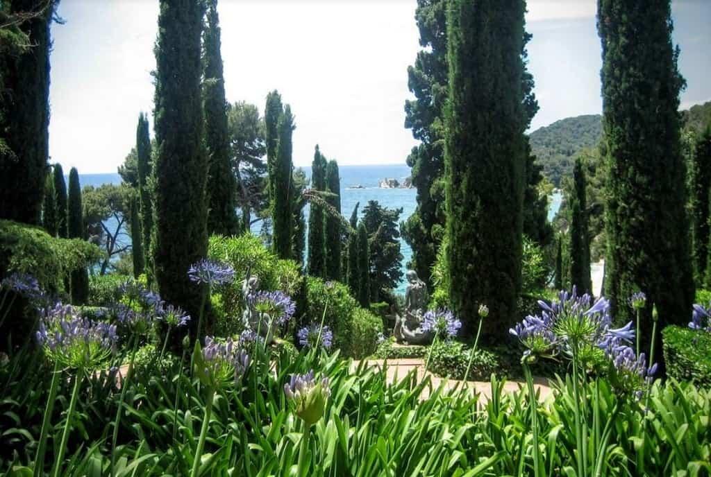 Сады Святой Клотильды (The Santa Clotilde Gardens) Льорет-де-Мар