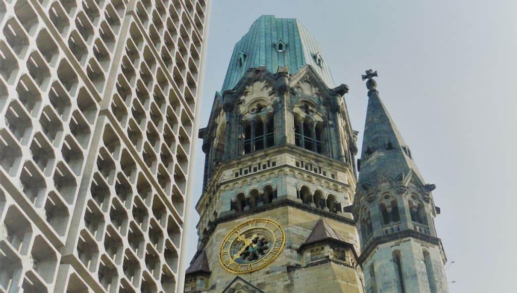 Мемориальная церковь кайзера Вильгельма (Kaiser-Wilhelm-Gedächtniskirche) Берлин