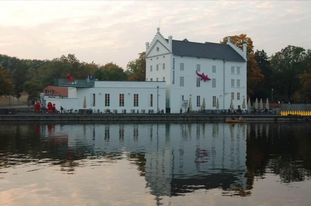 Музей Кампа – музей современного искусства Прага (Praha) – Чехия
