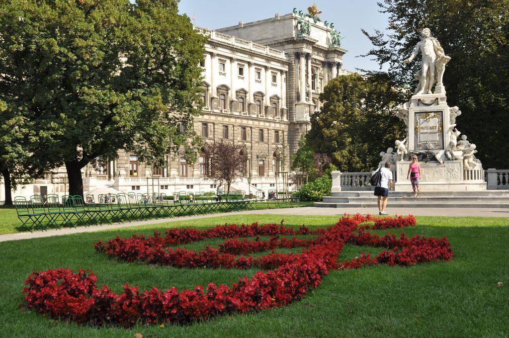 Памятник Моцарту, Вена