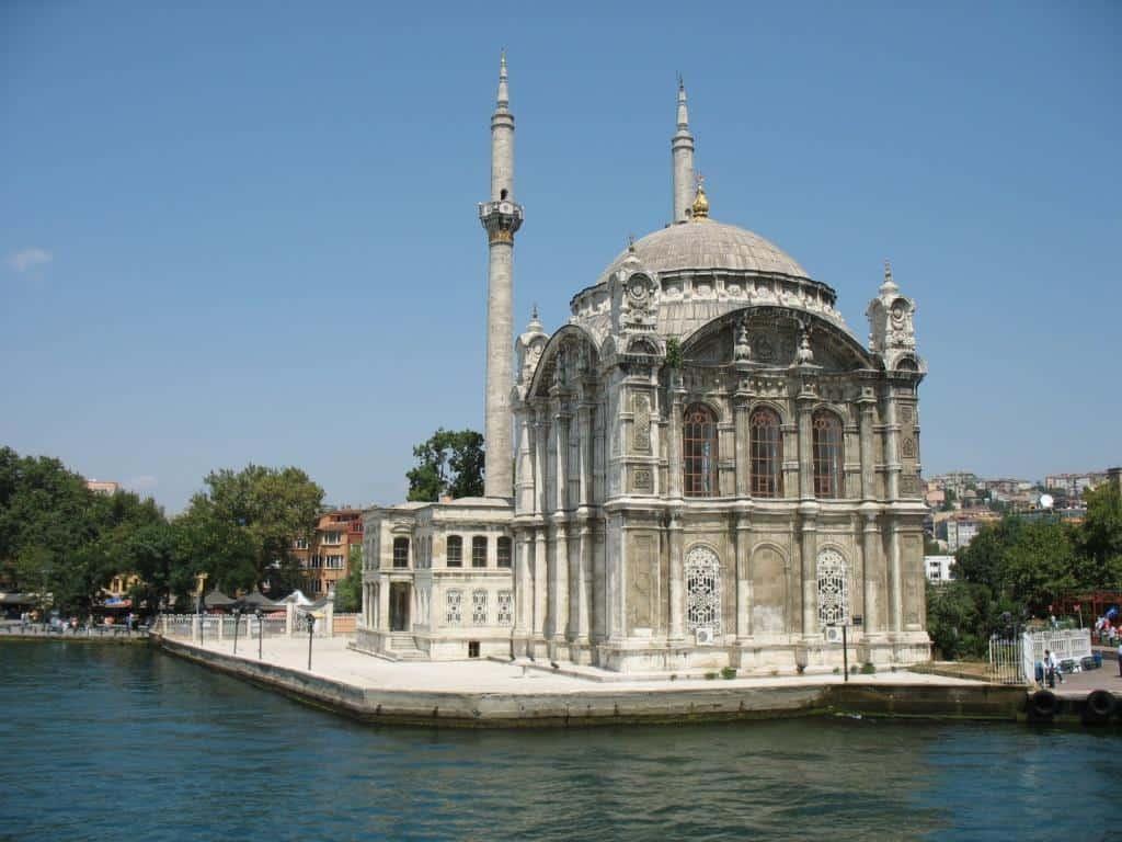 Мече́ть Ортакёй (Ortaköyi Camii) Стамбул (Istanbul) - Турция