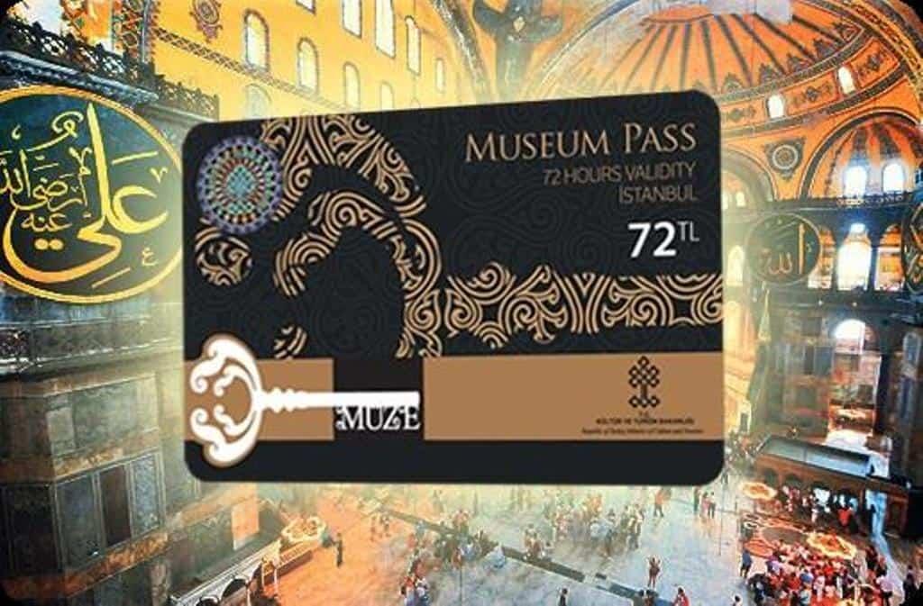 Музейная карта - Museum Pass Istanbul